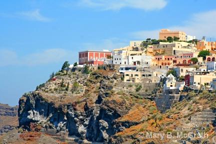 Cliffs of Santorini - ID: 9613394 © Mary B. McGrath