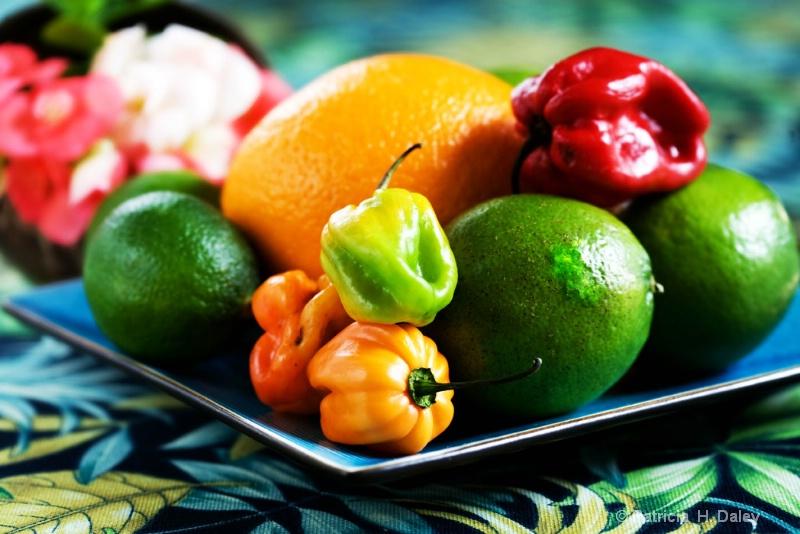 Tropical Fruit Still Life