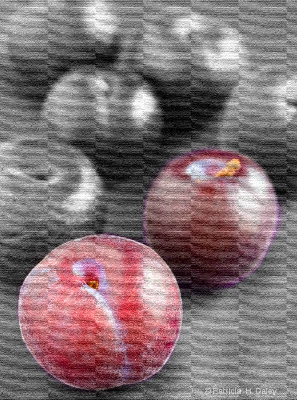 Plums Selective Color