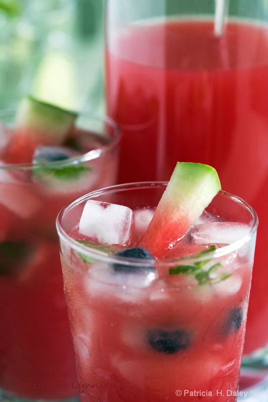 Watermelon Ginger Limeade