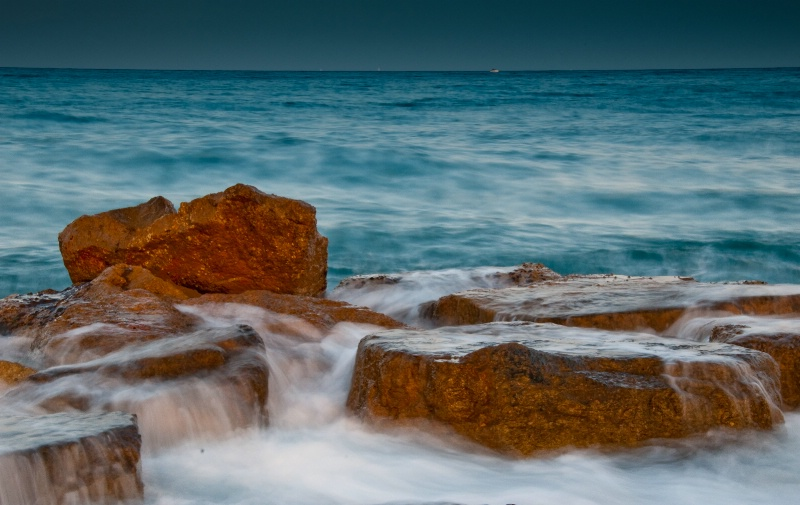 Rocks in Sea