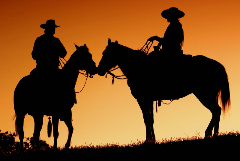End of the Rancher's Day - ID: 10929262 © Jim Miotke