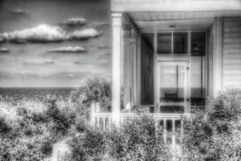 Tybee Island Beach House-HDR-Glamour Glow Filter