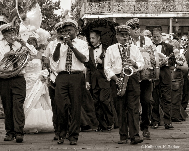 "Jazz Wedding ""Second Line"" Procession, New"