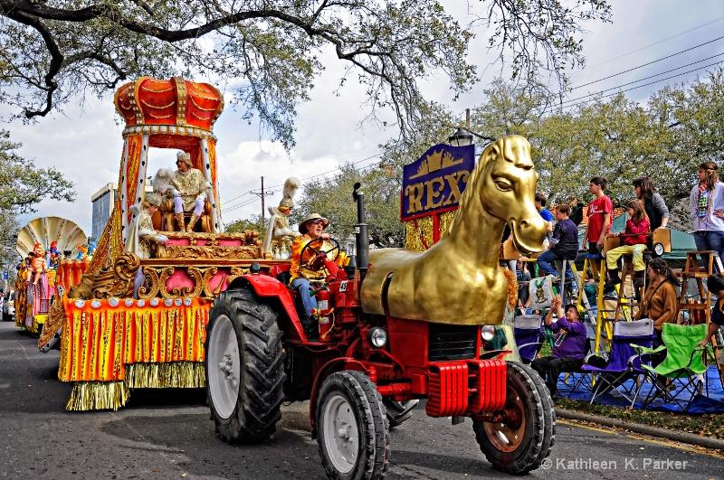 Rex, the King of Mardi Gras 2012 - ID: 12779457 © Kathleen K. Parker