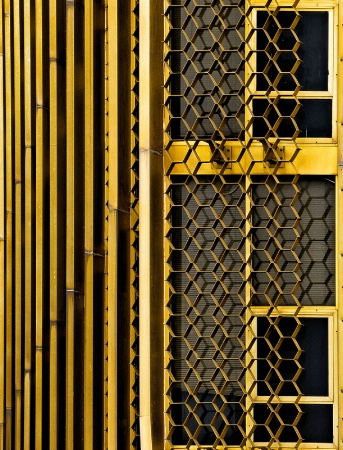 Lines and Shapes in Gold
