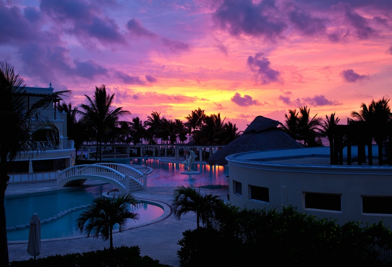 Mexican Resort Sunrise