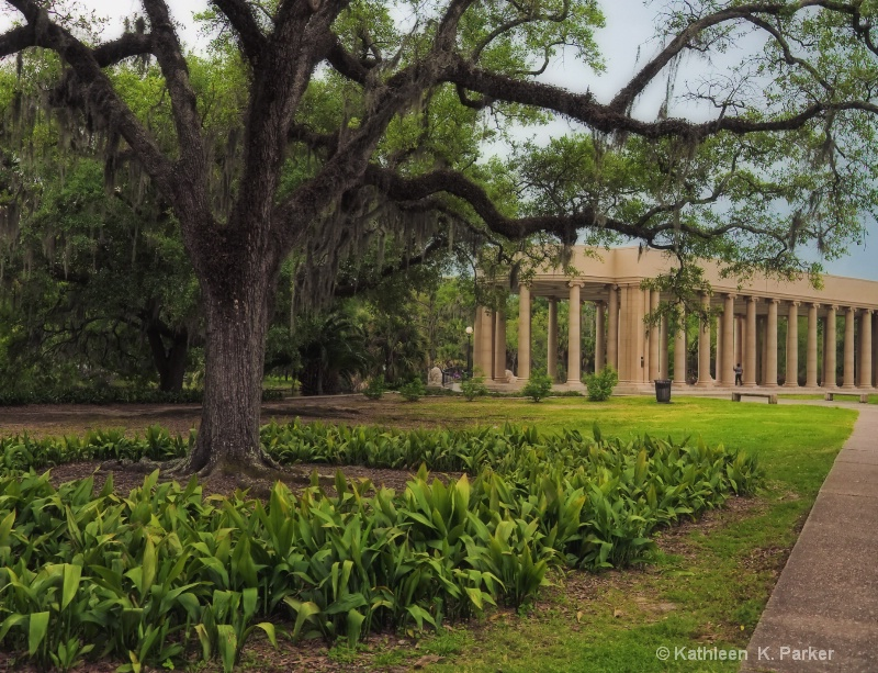 Peristyle City Park, New Orleans