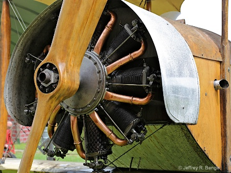"""1912 LeRhone Rotary Engine"""