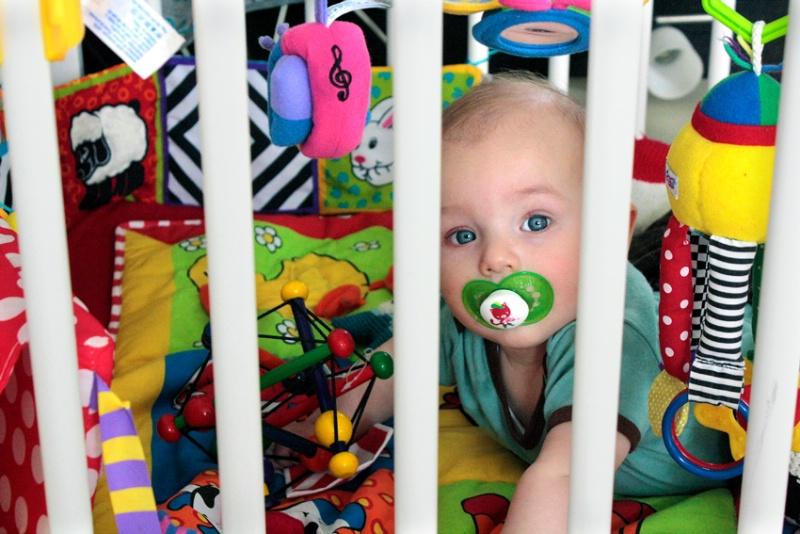 Colorful Life Behind Bars