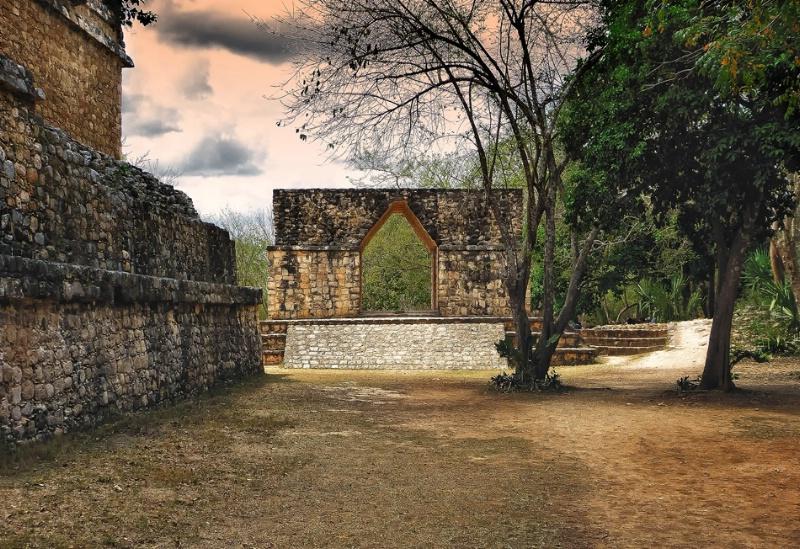 Ek Balam City Gate