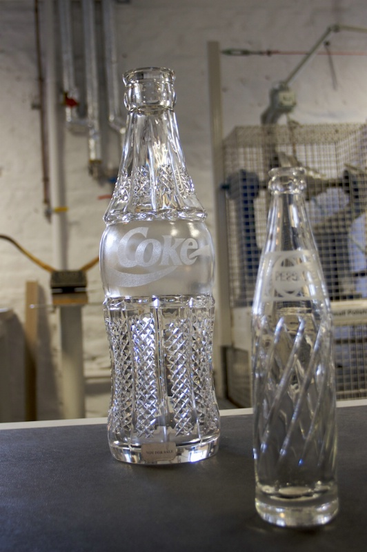 Waterford Crystal Coke Bottle - ID: 13895630 © Lamont G. Weide