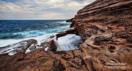 Natural Sea Bridge