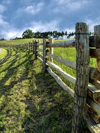 Fences Along The Blue Ridge Parkway