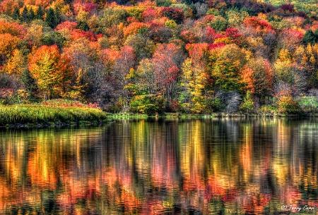 Autumn on Quaker Lake