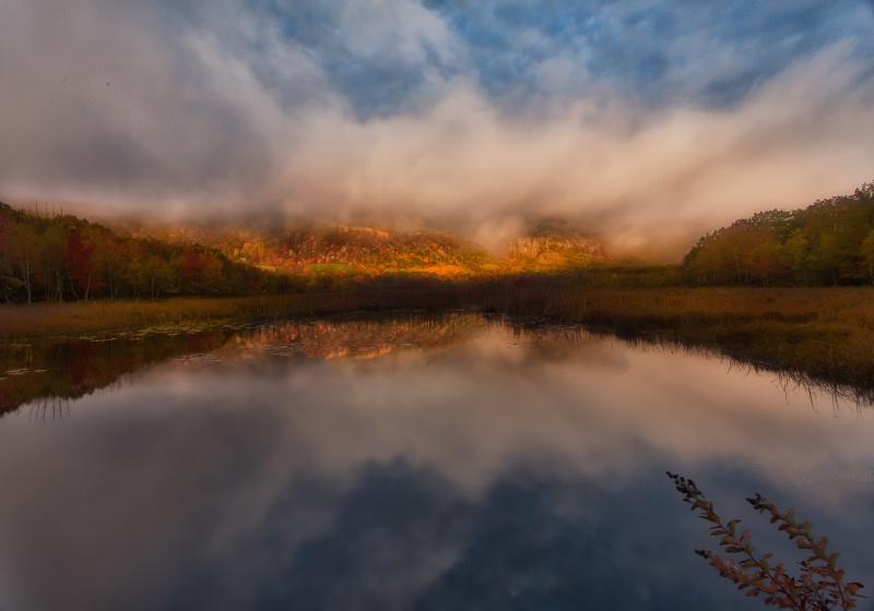 Marsh Sunrise - ID: 14212395 © Anne Hickey