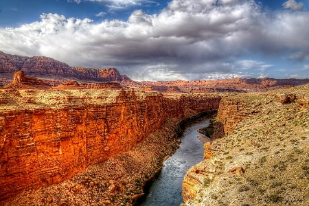 View from the Navajo Bridge