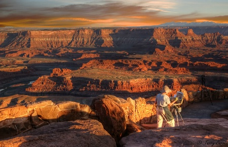 Photography Contest Grand Prize Winner - August 2015: Painting Dead Horse Point