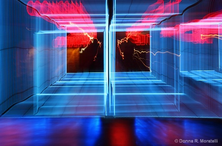 Passage of time abstract