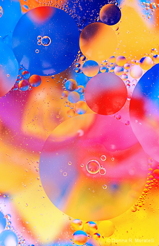 Color harmony abstract