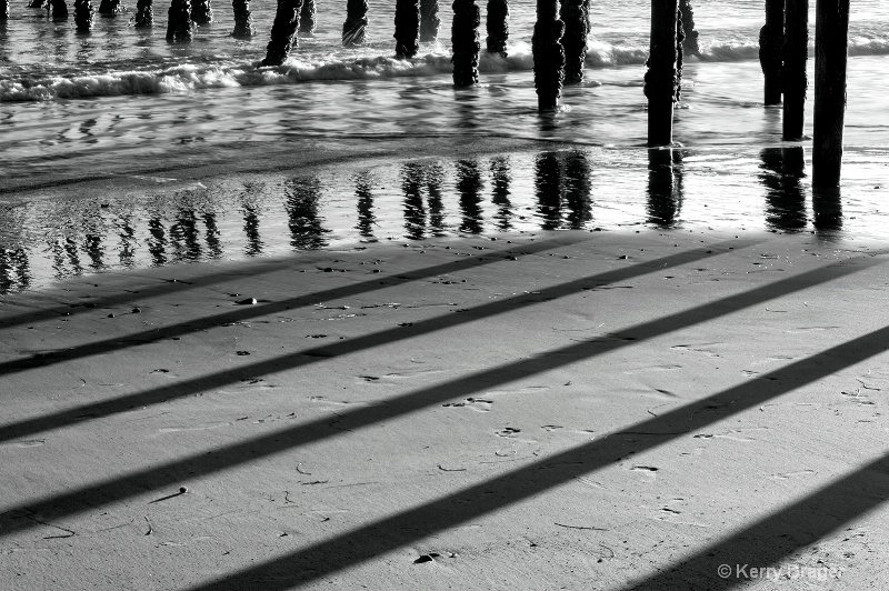 pier shadows &  reflections