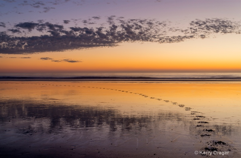 Footprints and Reflections