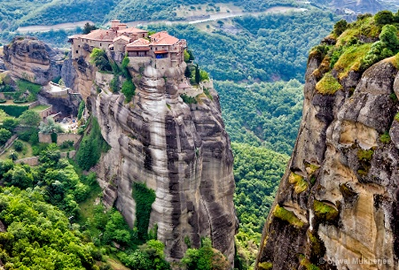 Clifftop Monastery – Meteora