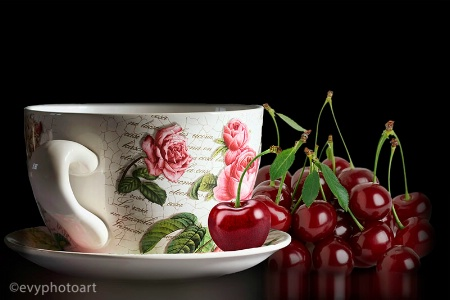 Cherry and Rose Tea
