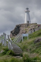 Stairs to the Cape Spear, NL Lighthouse