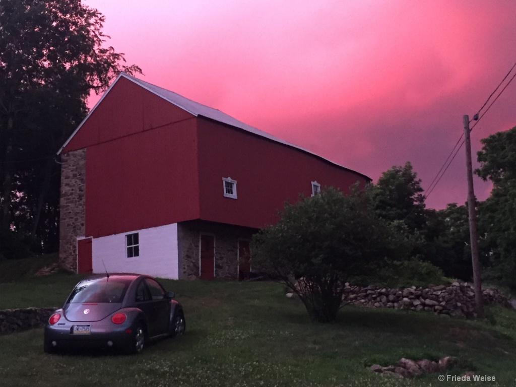 Fiery sunset  East - ID: 15208079 © Frieda Weise