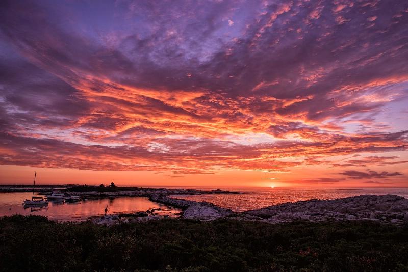 Sunrise on Star Island