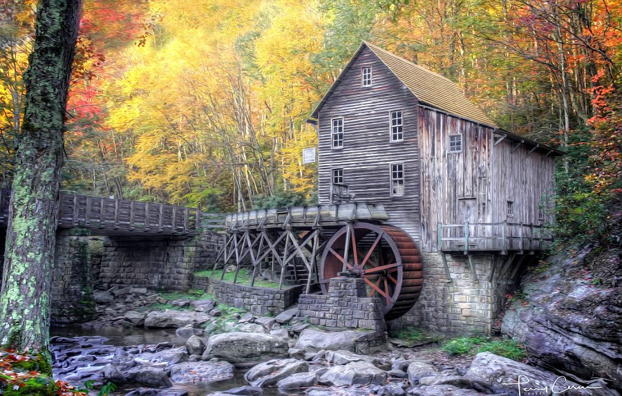 Glade Creek Autumn