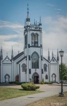 Church in Lunenburg, NS, Canada