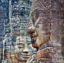 Stone Faces at Bayon