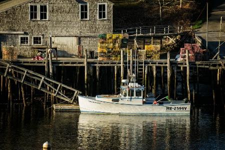 Morning in New Harbor