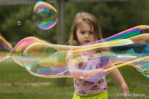 bubbles are serious business