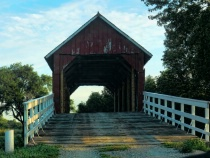Covered Bridge In The Greenbelt