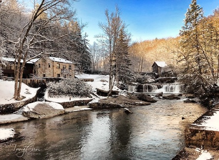 Early Spring at the Mill