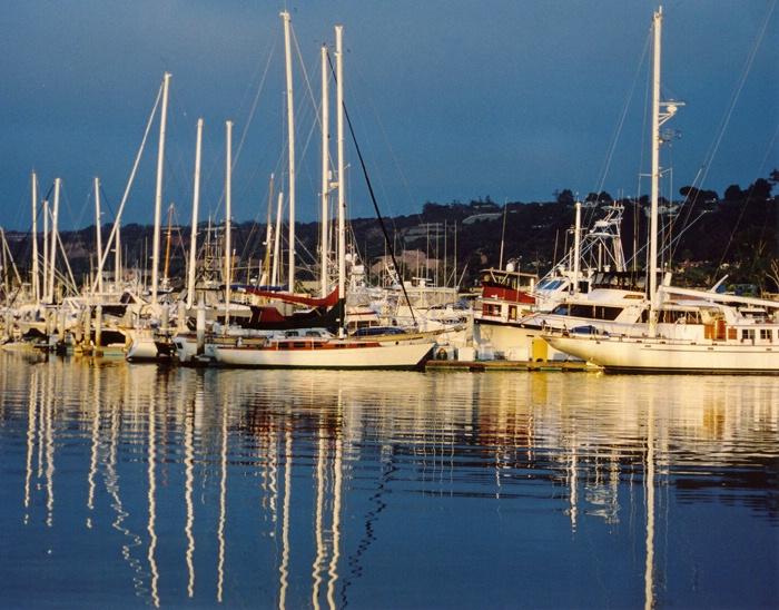 Sunrise at the Marina - ID: 15572916 © Ann H. Belus