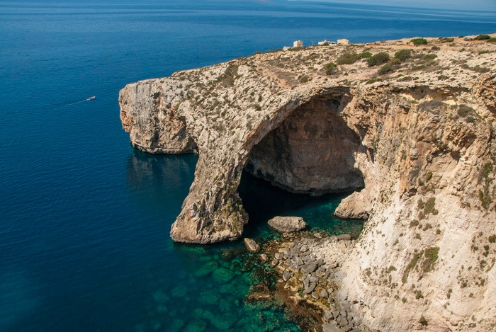 Blue Grotto - ID: 15575669 © Ann H. Belus
