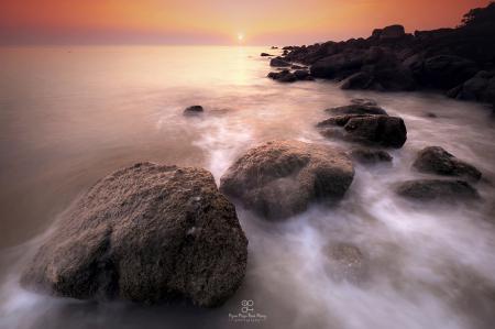 Seascape of Myanmar