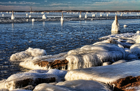 Ice And Slush And Snow