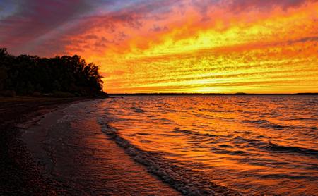 Bright Shiny Sunset