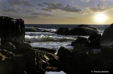 Playa Brujas - Mazatlan Sunsetting