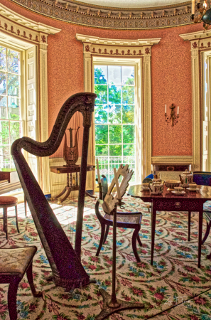 Music Room of Nathaniel Russell House