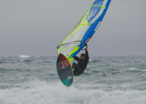 Stormy Day Kite Surfer