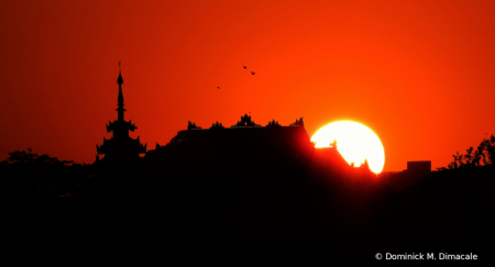 ~ ~ SUNSET IN MYANMAR ~ ~