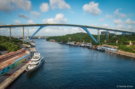 Bridge at Willemstad, Curacao