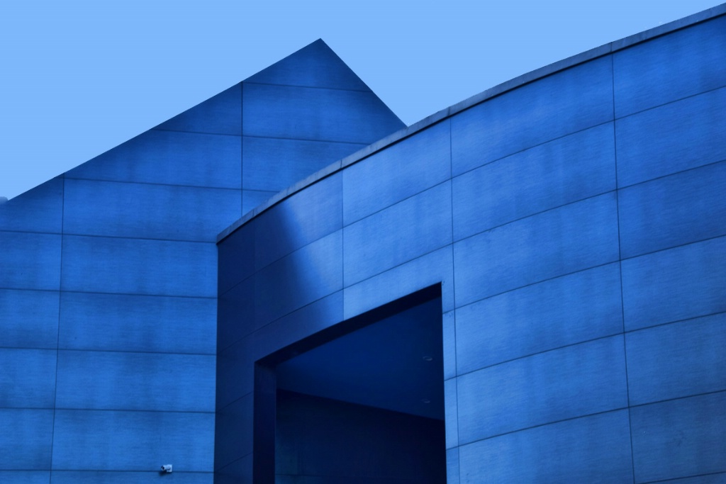 COMPOSITION IN BLUE