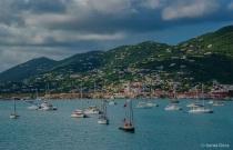 Boats off the Coast of St. Thomas